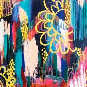 magic and healing abstract australian art
