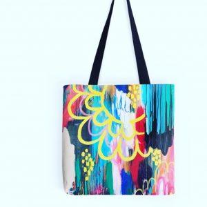 magic and healing tote bag