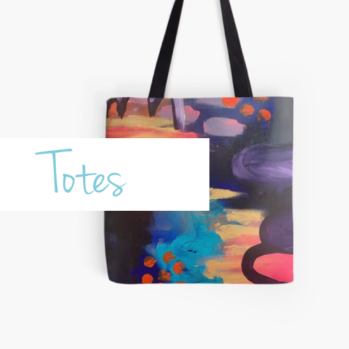 tote bags-printed-with-bright-vibrant-art