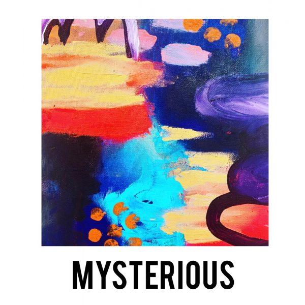 Mysterious artwork