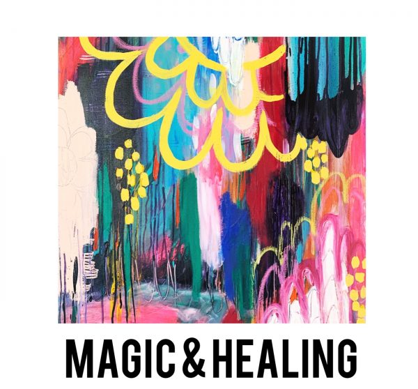 Magic and healing artwork
