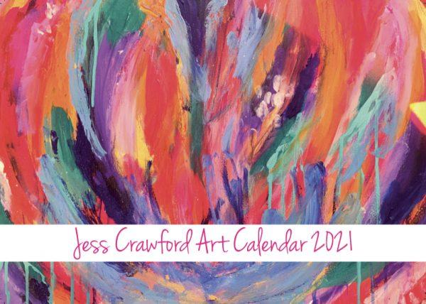 Jess Crawford 2021 Calendar