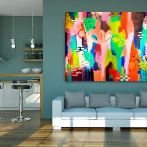 abundance canvas print