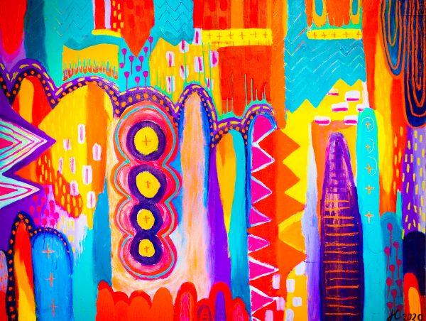 Carnavale original artwork